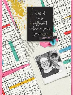 Created with the two scoop Stay Weird by Studio Basic and Amanda Yi; available at Sweet Shoppe Designs. Normal Is Boring, Stay Weird, Just Be You, Gorgeous Eyes, Super Powers, Word Art, Creative Inspiration, Digital Scrapbooking, Overlays