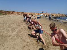 Strandparty auf Kreta july 2014
