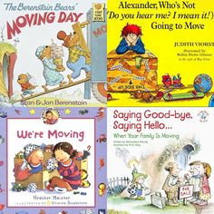 Kids books on moving