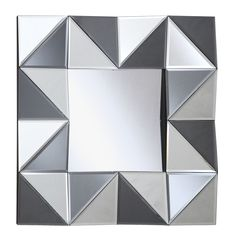 Crestview Collection Square Wall Mirror