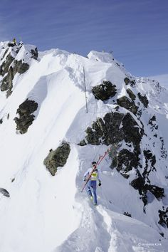 Die Läufer der Hard Variante mussten sich auch auf dem Klettesteig auf den Gargellner Köpfen beweisen.