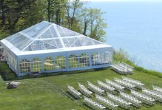 Clear Navitrack Tent and chairs