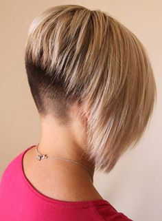 15 Cool Shaved Nape Bob Haircuts | Bob Hairstyles 2015 - Short Hairstyles for Women