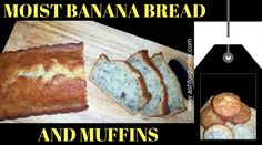 Banana Bread and Muffins   Moist! Tried Tested Delicious {www.ashfordonfire.com}