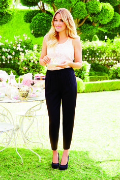 March LC Lauren Conrad Collection for Kohl's, I love this look for summer in the office.