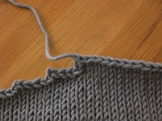 The Last Stitch - How to avoid these terrible stair steps -  Fiona's Knitting