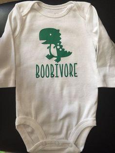 BOOBIVORE/ breastfeeding/ baby shirt/onesie / by BoosCrafts1