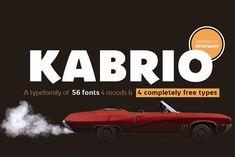 Kabrio Font - 80% OFF!  @creativework247