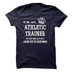 i am  an ATHLETIC TRAINER T Shirt, Hoodie, Sweatshirt