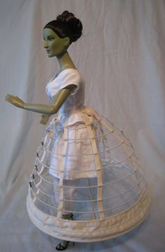 cage crinoline for Tonner Basic Wicked Witch doll