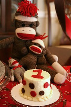 sock monkey birthday party This is for u christie n derek! Myles would love!