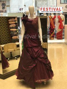 Evening  gowns only at FESTIVAL LALGATE SURAT   The House of Saree, Chaniya choli, Dress, Gown, Indo-western, Unstitch material etc. For Live Video shopping / whatsapp / FaceTime call  + 91 8469977360    #indianfashion #India ethnic #ethnicwear #desilook #lehengacholi #weddinglehenga #indianwear #zariv#reshamwork #sequin #partywear #lehengas #designerwear #festivalstyle #bridesmaids #bride #fashionblogger #styleblogger #instafashion #silk #festivalsurat  #festivalsurat#lalgate Choli Dress, Lehenga Choli, Saree, Designer Wear, Festival Fashion, Indian Wear, Indian Fashion, Evening Gowns, Sequins