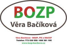 Věra Bačíková - BOZP, PO a HACCP