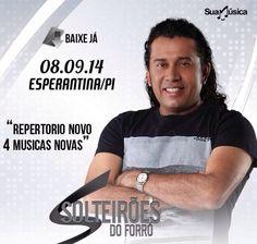 SOLTEIRÕES DO FORRÓ - #Repertório Novo - 4 Músicas Novas  http://suamusica.com.br/SolteiroesEsperantinaRepertorioNovo
