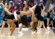 Coastal Carolina Chanticleers cheerleader