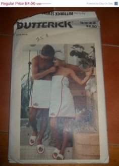 SALE UnCut Butterick Sewing Pattern 3532 Vintage by EarthToMarrs, $5.60