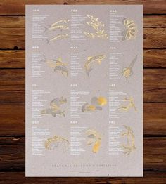 Graphic Design - Graphic Design Ideas  - Seasonal Seafood Art Print by Young America Creative on Scoutmob Shoppe   Graphic Design Ideas :     – Picture :     – Description  Seasonal Seafood Art Print by Young America Creative on Scoutmob Shoppe  -Read More –