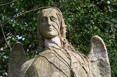 Angel in Abney park cemetery, London