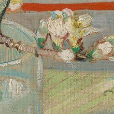 Bloeiend amandeltakje in een glas - Van Gogh Museum