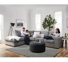 Dakota 5 Seater Modular Chaise Fantastic furniture - about $1000 : fantastic furniture chaise lounge - Sectionals, Sofas & Couches