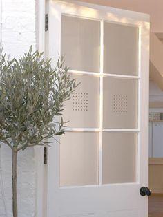 square grid window film
