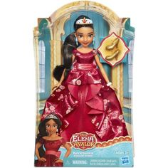 Disney Elena of Avalor Royal Gown Doll Image 2 of 17 Disney Baby Dolls, Disney Princess Dolls, Princess Zelda, Princess Ages, Princess Elena Of Avalor, Princess Party, Amelie, Muñeca Baby Alive, Disney Characters Costumes