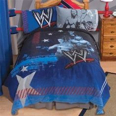 wwe wrestling champions twin sheet set | twin sheet sets, twin