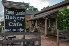 Satisfy your sweet tooth at Amana Colonies Bakery & Cafe in Amana, Iowa