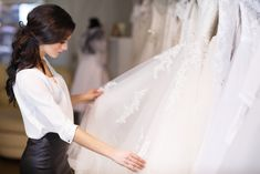 Discover how you can find stunning bridal gowns at a more affordable price, including from the most in-demand wedding gown designers including Vera Wang. Dresses For Less, Types Of Dresses, Wedding Dress Shopping, Wedding Dresses, Asking Bridesmaids, Ever Pretty, Designer Wedding Gowns, Gorgeous Wedding Dress, Dream Dress
