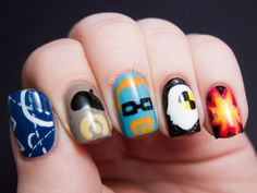 Jamie Wants Big Boom: Mythbusters Nail Art | Chalkboard Nails | Nail Art Blog