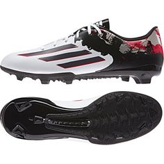 Adidas Messi 10.3 Firm Ground Football Boots White