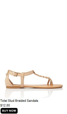 Total stuff braided sandal
