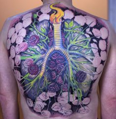 Cystic Fibrosis Tattoo - Session #7 - Paco Dietz at Graven Image, Santa Clara, CA