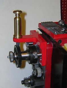 Headstock Dividing Attachment by PeterE -- Homemade headstock dividing attachment machined from steel and brass. Features a console-mounted detent mechanism. http://www.homemadetools.net/homemade-headstock-dividing-attachment