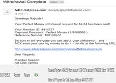 """I WORK FROM HOME less than 10 minutes and I manage to cover my LOW SALARY INCOME. If you are a PASSIVE INCOME SEEKER, then AdClickXpress (Ad Click Xpress) is the best ONLINE OPPORTUNITY for you.""for more details:- 8699814986 to join click http://adclickxpress.com/?r=9cpb7sgushm&p=aa"