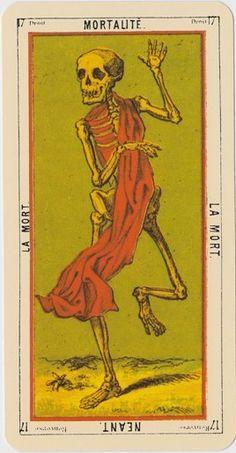 Tarot Egyptien ∞ #tarot #cards #divination #cartomancy #occult #death #thedeathcard