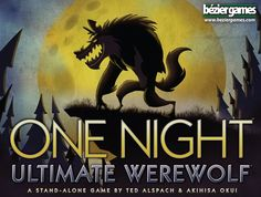 One Night: Ultimate Werewolf is a fast game for 3-10 players in which everyone gets a role: One of the dastardly Werewolves, the tricky Troublemaker, the helpful Seer, or one of a dozen different characters, each with a special ability. In the course of a single morning, your village will decide who is a werewolf...because all it takes is lynching one werewolf to win!