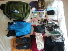 One woman's ultra light packing list - this is an inspiration!