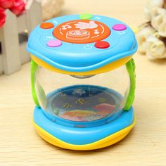 Funny Children Infant Toys Mini Magic Hand Drum Beat LED Music Early Childhood Educational Learning Developmental  Baby Rattles #>=#>=#>=#>=#> Click on the pin to check out discount price, color, size, shipping, etc. Save and like it!