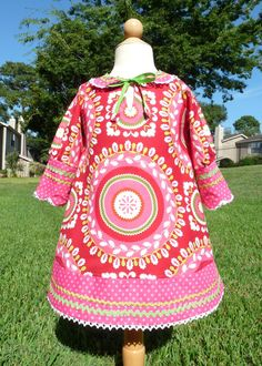 cute dress love the fabric