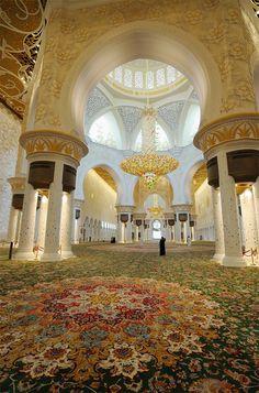 Sheikh Zayed Grand Mosque Centre Abu Dhabi