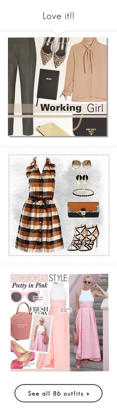 """Love it!!"" by jennifer-knee ❤ liked on Polyvore featuring Balenciaga, Prada, Zolà, Goldgenie, Sloane Stationery, Isaac Mizrahi, Carlos by Carlos Santana, New Look, Dolce Giavonna and Victoria Beckham"