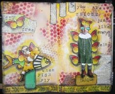 Art Journal: 'Flying Oddities' « Sketches & Jottings