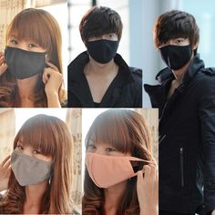 1pcs Cotton Face Mouth Mask Black Cartoon Face Masks Anti Haze Dust Cotton Mask Outdoor Nose Filter Windproof Mouth-muffle Mask To Win A High Admiration And Is Widely Trusted At Home And Abroad. Personal Health Care