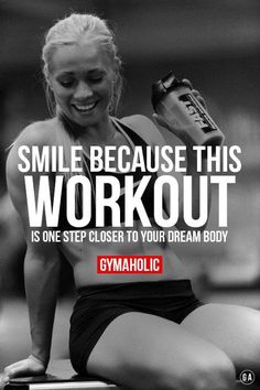 gymaaholic: Every workout is one step closer to your goal. Keep up the hard work !!! http://www.gymaholic.co/motivation