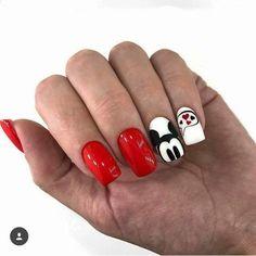 hansen magical nail makeup nail art nailart and nail makeup nail makeup prom dress makeup nail design inc nail makeup harley gardens nail designs ten nail & makeup studio Ongles Mickey Mouse, Mickey Mouse Nail Design, Mickey Mouse Nails, Love Nails, Fun Nails, Pretty Nails, Gelish Nails, Nail Manicure, Disneyland Nails