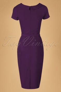 Daisy Dapper Megan Pencil Dress in Purple 19507 20160719 019 Sexy Dresses, Dresses For Work, Lawyers, Business Attire, Pencil Dress, Dapper, Worship, Retro Vintage, Daisy