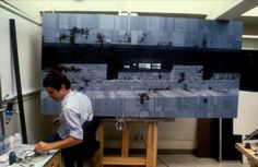 Creating the sets for Star Wars: Episode IV - A New Hope (1977)