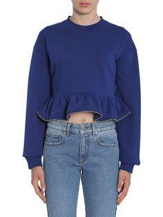 MSGM Ruched Sweatshirt. #msgm #cloth #