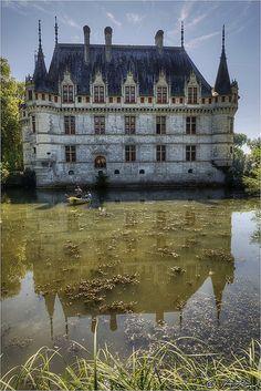 Azay le Rideau castle, France